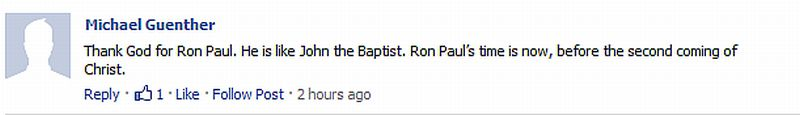 """Ron Paul, the """"Biblical Prophet,"""" Anoints Vancouver and Beyond (2/5)"""
