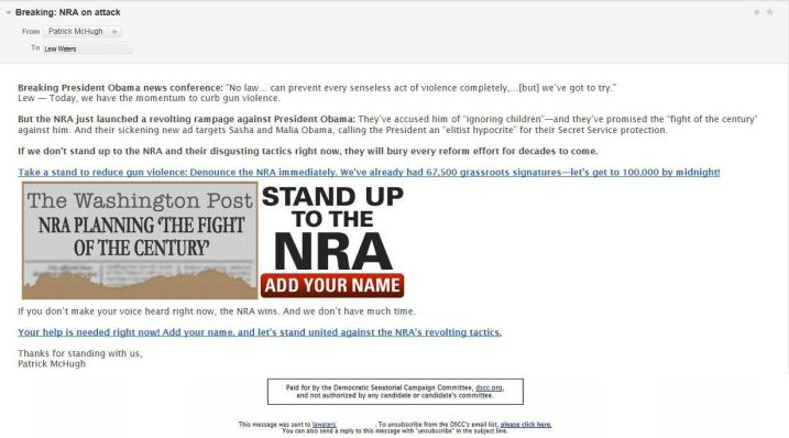 NRA Attack