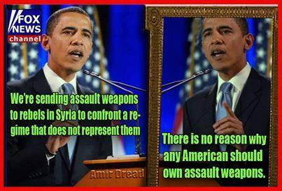 Obama, Assault Weapons