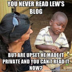 Lew's Blog a